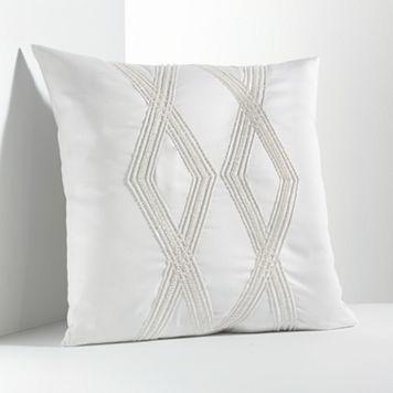 Simply Vera Vera Wang Solid Bugle Bead Decorative Pillow
