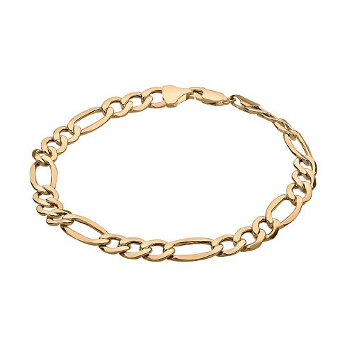 Everlasting Gold 10k Gold Figaro Chain Bracelet - 8.5 in.
