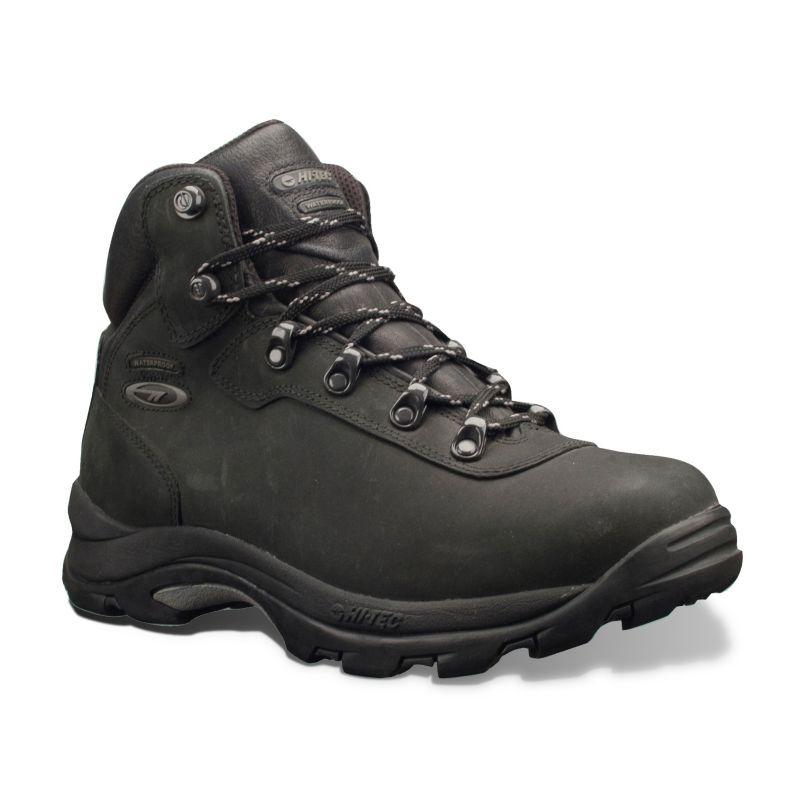 Hi-Tec Black Altitude IV Waterproof Hiking Boots - Men