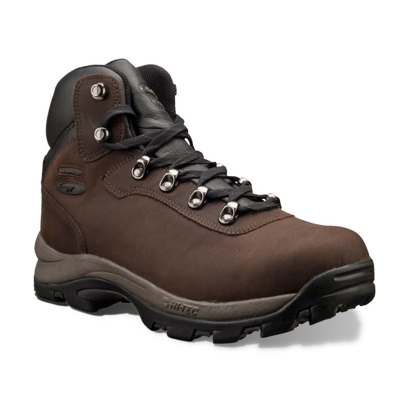 Hi-Tec Brown Altitude IV Waterproof Hiking Boots - Men