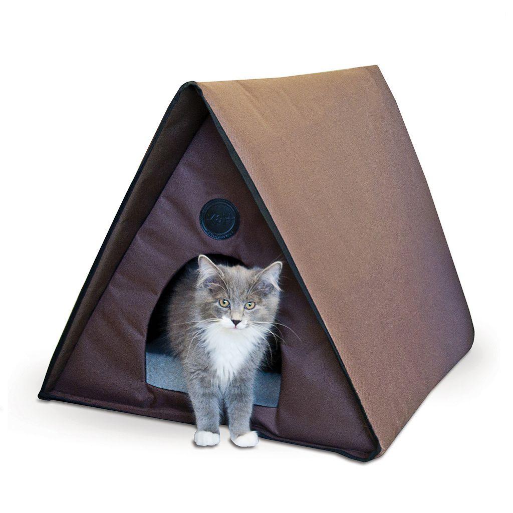 K&H Pet Outdoor Multiple Cat Shelter A-Frame
