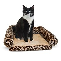 K&H Pet Leopard Lazy Lounger Pet Bed - 16'' x 14''