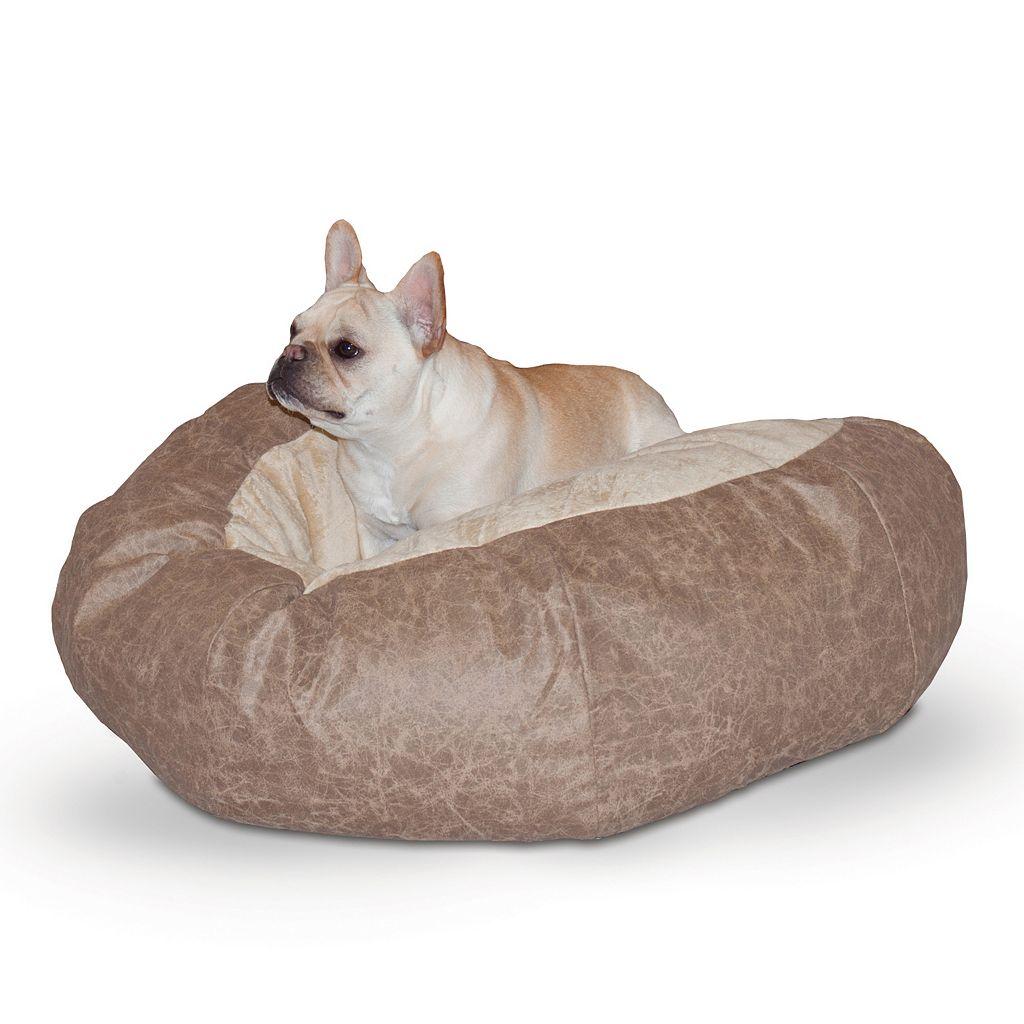 K&H Pet Self-Warming Cuddle Ball Bed - 38''
