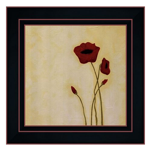 """Summer I"" Framed Canvas Wall Art by Rita Vindedzis"