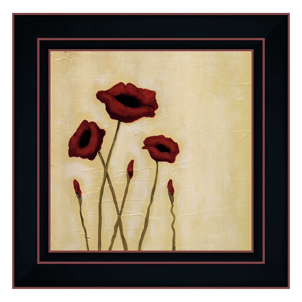 """Summer II"" Framed Canvas Wall Art by Rita Vindedzis"