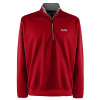 Men's Atlanta Braves 1/4-Zip Leader Pullover