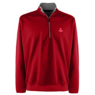Men's Boston Red Sox 1/4-Zip Leader Pullover
