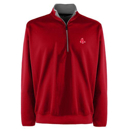 Men's Boston Red Sox 1/4-Zip Leader Pullover
