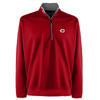Men's Cincinnati Reds 1/4-Zip Leader Pullovers