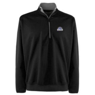 Men's Colorado Rockies 1/4-Zip Leader Pullover