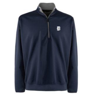 Men's Detroit Tigers 1/4-Zip Leader Pullover