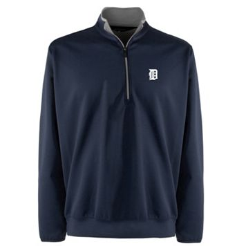 Men's Detroit Tigers 1/4-Zip Leader Pullover