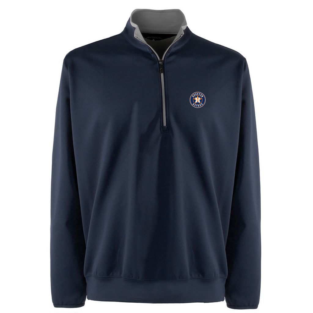 Men's Houston Astros 1/4-Zip Leader Pullover