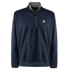 Men's New York Yankees 1/4-Zip Leader Pullover