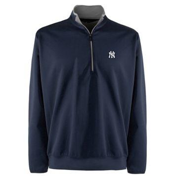 Men's New York Yankees 1/4-Zip Leader Pullover