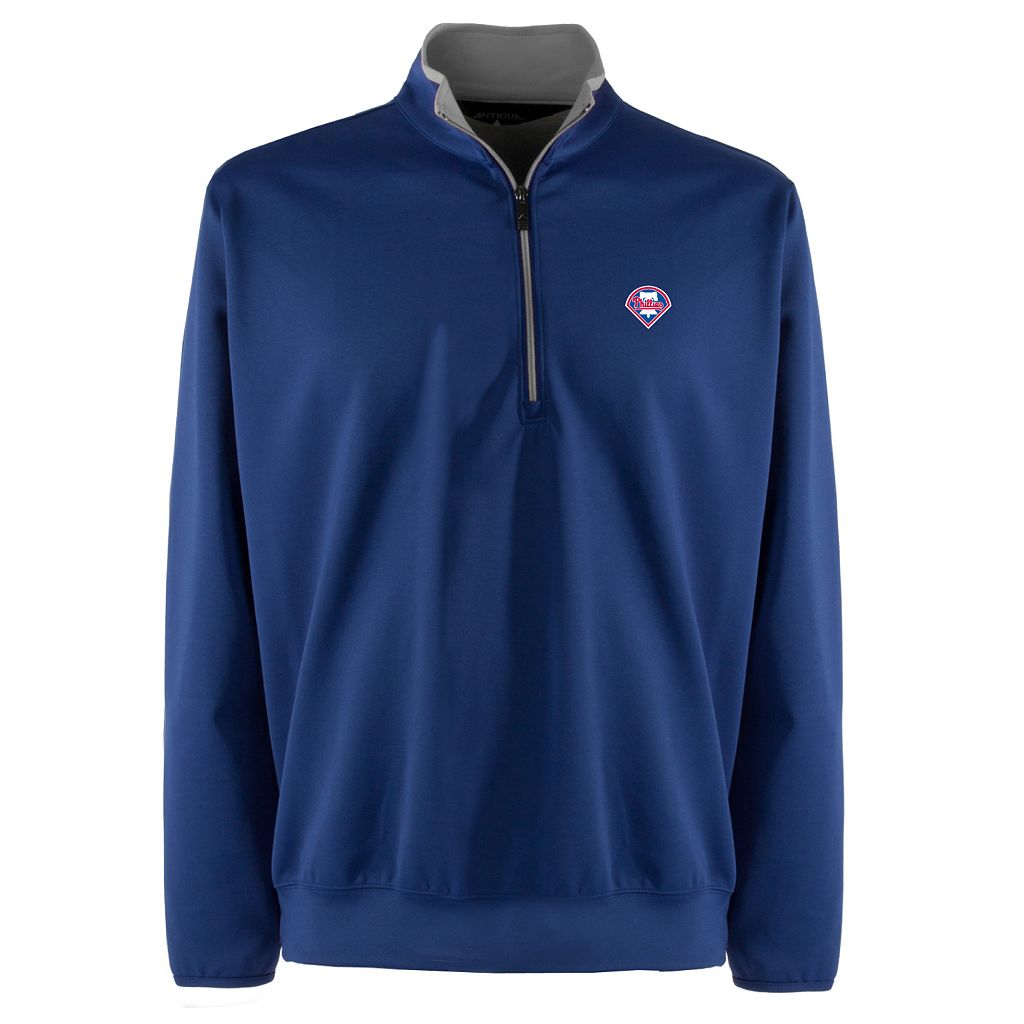 Men's Philadelphia Phillies 1/4-Zip Leader Pullover