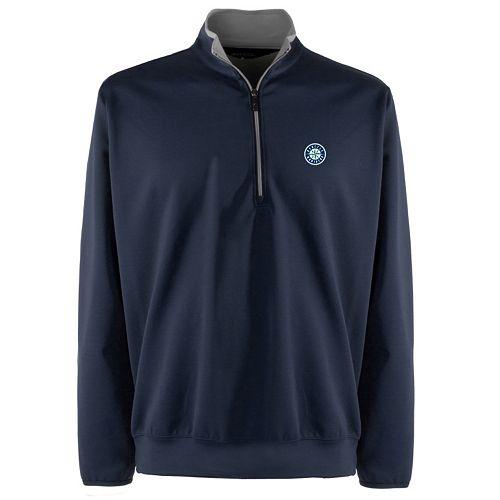 Men's Seattle Mariners 1/4-Zip Leader Pullover