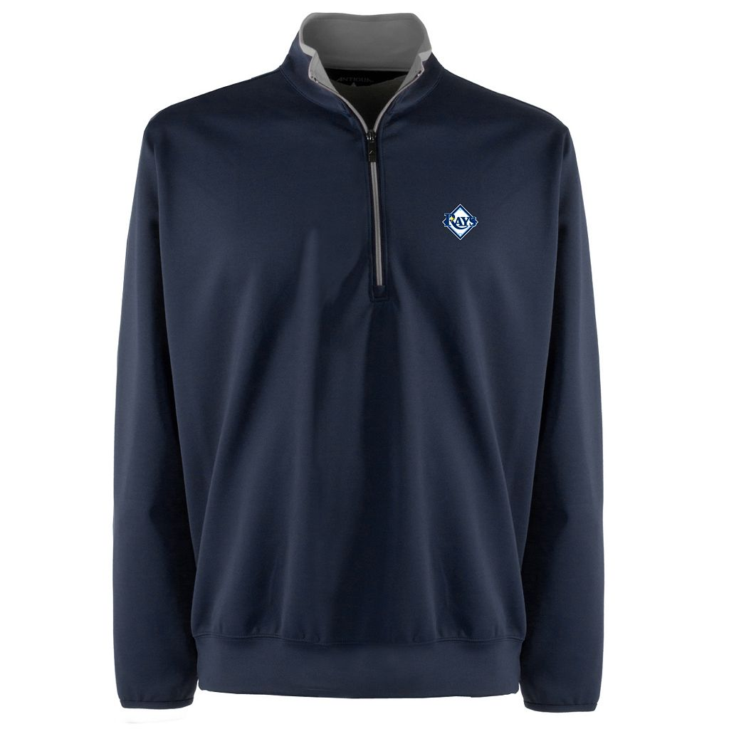 Men's Tampa Bay Rays 1/4-Zip Leader Pullover