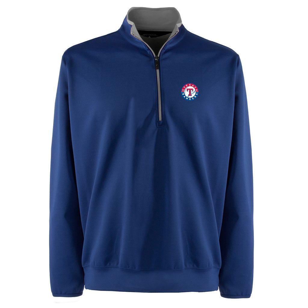 Men's Texas Rangers 1/4-Zip Leader Pullover