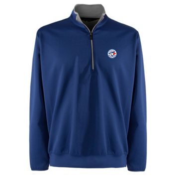 Men's Toronto Blue Jays 1/4-Zip Leader Pullover