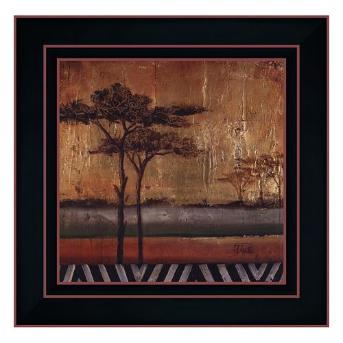 """African Dream I"" Framed Canvas Wall Art by Patricia Pinto"