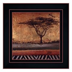 'African Dream II' Framed Canvas Wall Art by Patricia Pinto