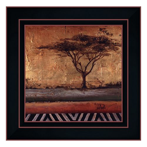 """African Dream II"" Framed Canvas Wall Art by Patricia Pinto"