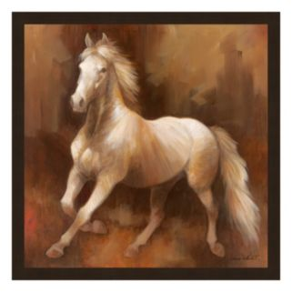 Champion Stock II Framed Canvas Wall Art by Elaine Vollherbst-Lane