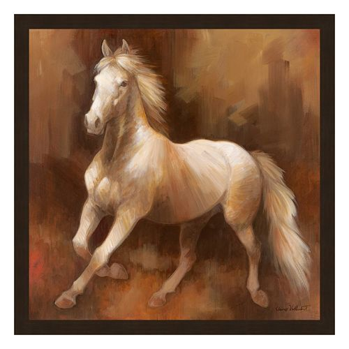 'Champion Stock II'' Framed Canvas Wall Art by Elaine Vollherbst-Lane