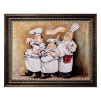Haute Cuisine I Framed Canvas Wall Art By Tracy Flickinger