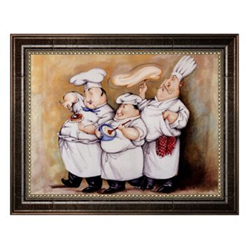 ''Haute Cuisine I'' Framed Canvas Wall Art by Tracy Flickinger