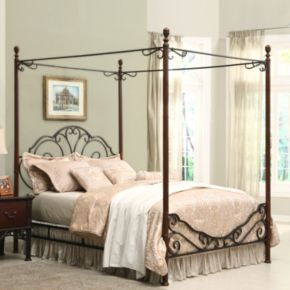 HomeVance 3-pc. Queen Headboard, Footboard and Frame Set