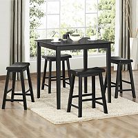 HomeVance Samuel 5-pc. Pub Table & Chair Set