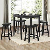 HomeVance Samuel 5-pc. Pub Table & Chair Set