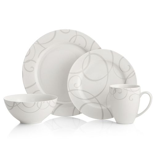 Oneida Symphony Gray 16-pc. Dinnerware Set
