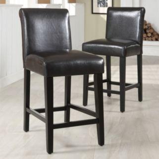 HomeVance 2-pc. Mayer Counter Chair Set