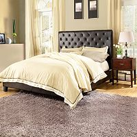 HomeVance Darla 3-pc. Queen Headboard, Footboard & Frame Set