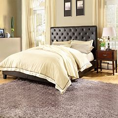HomeVance Darla 3 pc Queen Headboard, Footboard & Frame Set