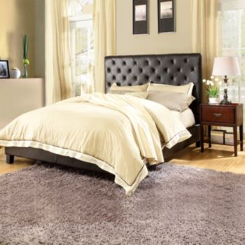 HomeVance Darla 3-pc. Queen Headboard, Footboard and Frame Set