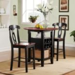 HomeVance 3-pc. Ricardo Bistro Set