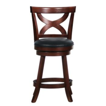 HomeVance Christophe Swivel Counter Stool