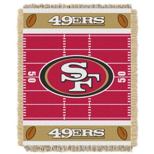 San Francisco 49ers Baby Jacquard Throw