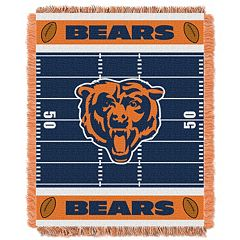Chicago Bears Baby Jacquard Throw