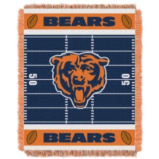 Chicago Bears Baby Jacquard Throw