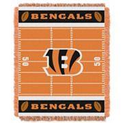 Cincinnati Bengals Baby Jacquard Throw