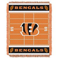 Cincinnati Bengals Baby Jacquard Throw
