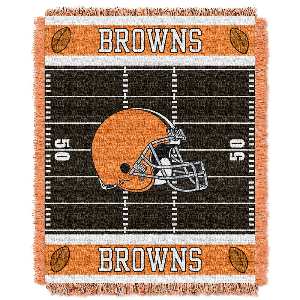 the best attitude 7608e b9ed4 Cleveland Browns Baby Jacquard Throw