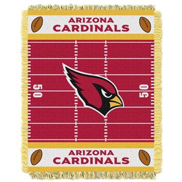 Arizona Cardinals Baby Jacquard Throw