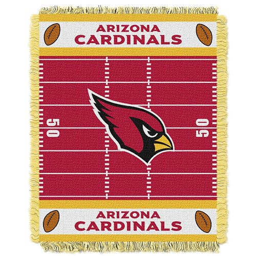 Arizona Cardinals Baby Jacquard Throw