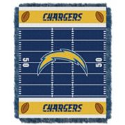 San Diego Chargers Baby Jacquard Throw